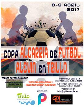Copa alcarria de fútbol alevín en Trillo