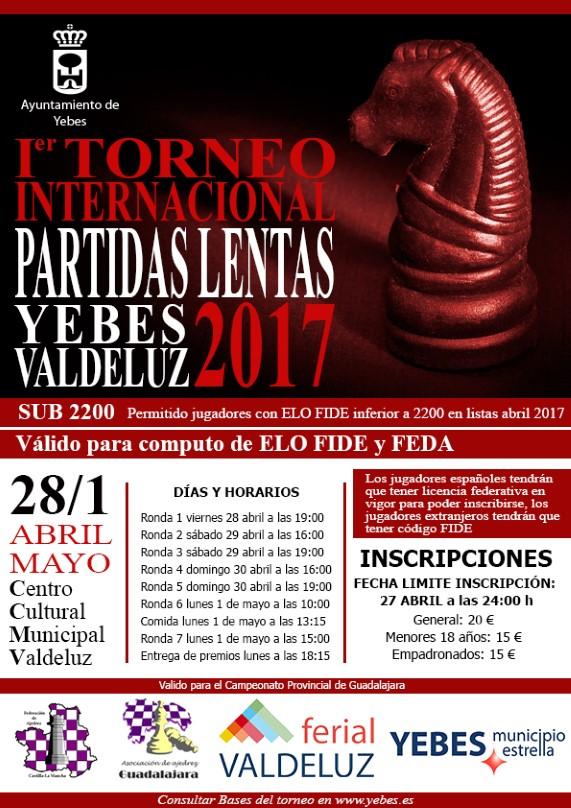 1º Torneo Internacional de Partidas Lentas