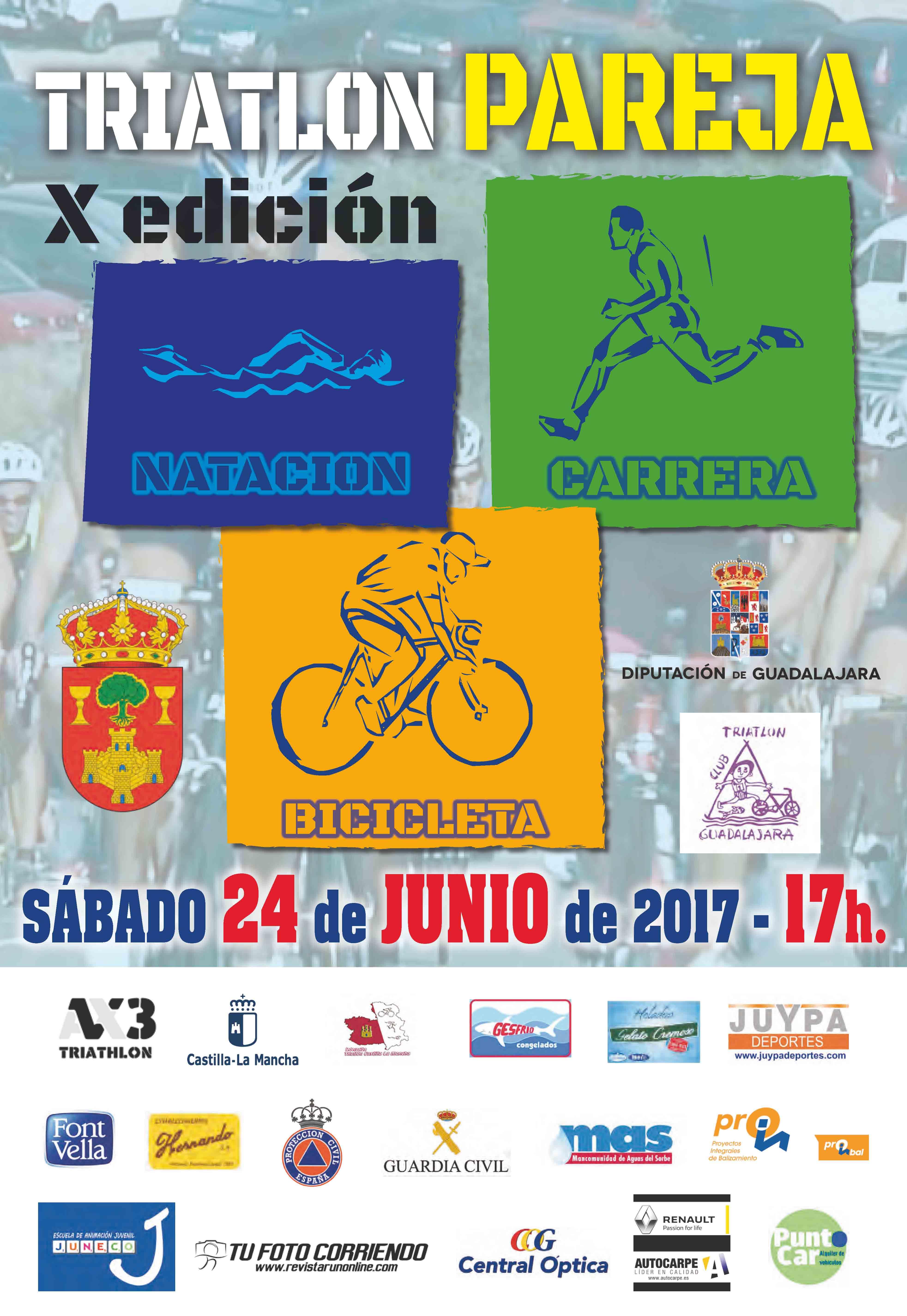 X Edición del triatlón de Pareja