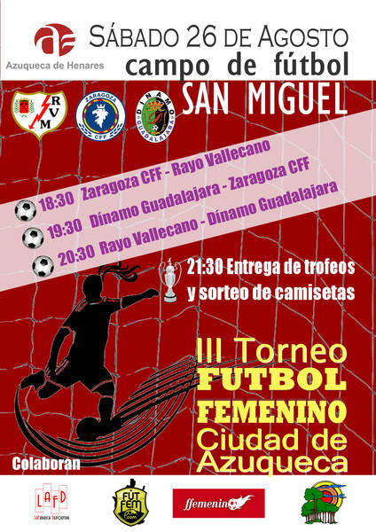 III Torneo de Fútbol Femenino Ciudad de Azuqueca