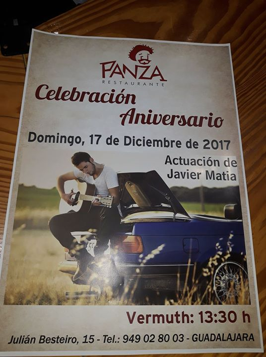 Celebración Aniversario Restaurante Panza