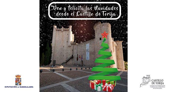 Ven y Felicita las Navidades desde el Castillo de Torija