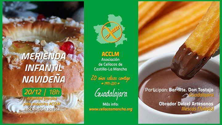 Merienda infantil navideña ACCLM (Guadalajara)