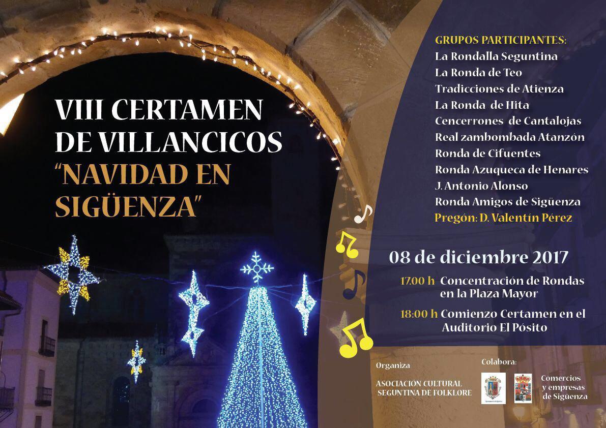 VIII Certamen de Villancicos 'Navidad en Sigüenza'