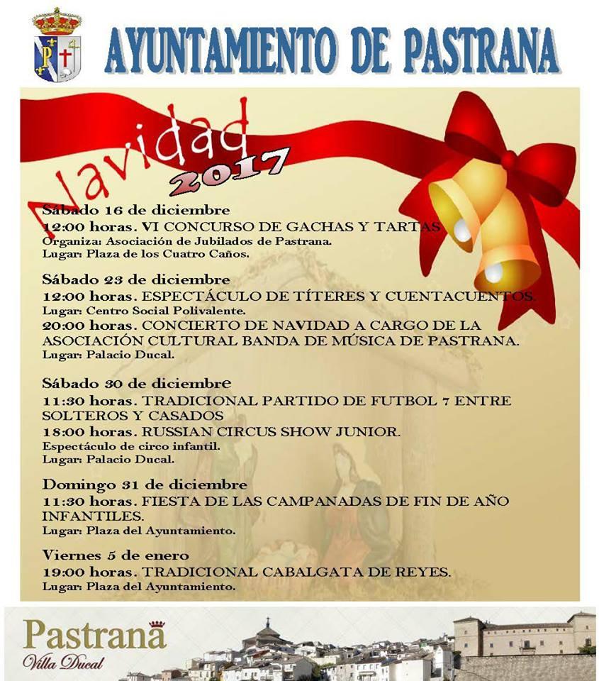 Programa NAVIDAD 2017 Pastrana