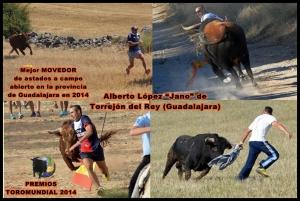 5. Mejor MOVEDOR de astados a campo abierto 2014