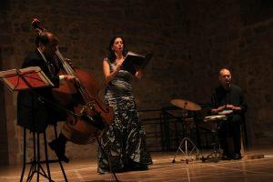 Fusión jazz-clásica-boleros y flamenco para iniciar el Puente de la Constitución en Sigüenza