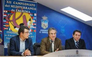 Guadalajara será la sede del XII Campeonato Mediterráneo de Esgrima