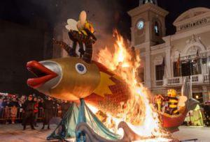 Adiós al Carnaval 2015 desde la Plaza Mayor