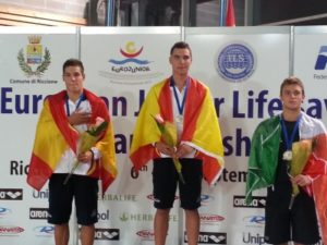 Campeón de Europa en 100 metros Socorrista