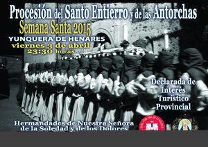 CARTEL SANTO ENTIERRO 2015