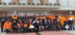 Cabanillas rinde tributo a su Agrupación de Protección Civil