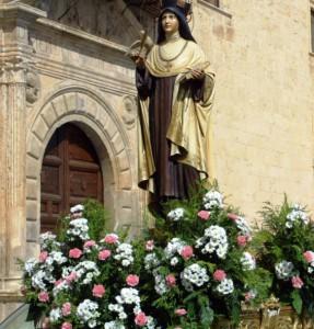 Pastrana. Imagen de Santa Teresa