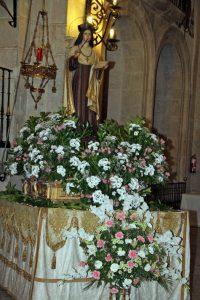 pastraneros visita las fundaciones de Santa Teresa