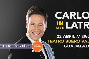 """CARLOS LATRE """"IN LIVE""""1"""