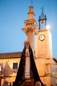 La Banda de Cornetas y Tambores de Fuentenovilla subrayó la devoción local con sus interpretaciones, además de actuar también en las localidades de Illana y de Escariche.