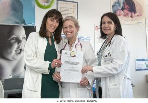 galardonados en el Congreso regional de Pediatría