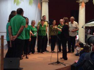 Coro de adultos de la Escuela de Cabanillas