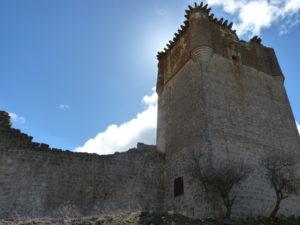 Vista del castillo de Galve desde la fachada sur. Foto Asoc. Castillo de Galve de Sorbe(1)