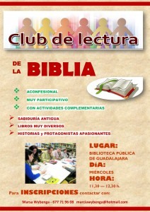 CARTEL CLUB LECTURA BIBLIA 2015 2016 rev