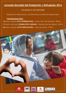 Azuqueca -Jornada emigrante y refugiado 2016