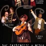 DOS ENTREMESES Y MEDIO de Miguel de Cervantes y Lope de Rueda