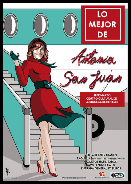Ya están a la venta las entradas del espectáculo 'Lo mejor de Antonia San Juan'