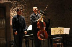 Brillante concierto de Ambrosini y Bouché para culminar el repertorio para chelo y piano de Beethoven en Musigüenza