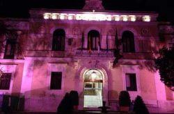La Diputación iluminará de rosa la fachada del Palacio Provincial con motivo del Día Contra el Cáncer de Mama