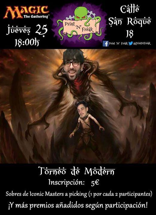 Torneo de Modern Jueves 25