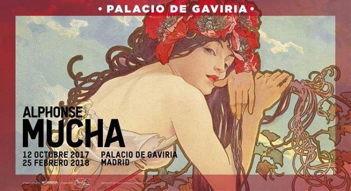 Exposición Alphonse Mucha (hasta el 25/02/2018)