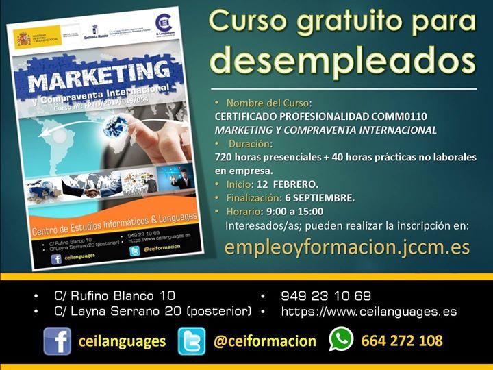 Prueba de Selección: Marketing y Compraventa Internacional