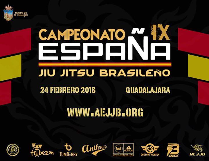 Campeonato de España de Jiu Jitsu Brasileño 2018