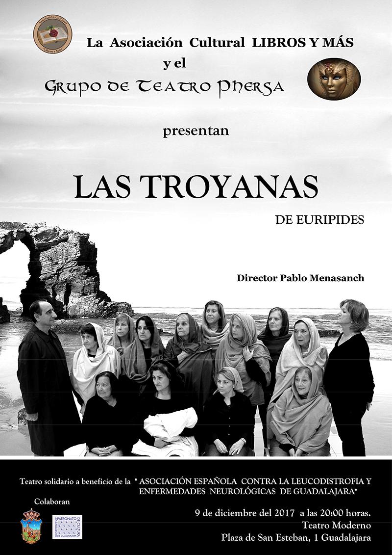 LAS TROYANAS Teatro Moderno Guadalajara
