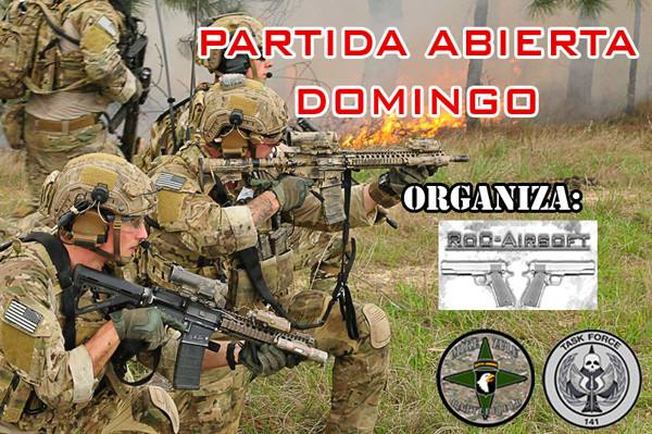 Partida Abierta – Domingo 16/04/17 – Mike Zulu Battlefield