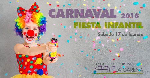 Fiesta Infantil de Carnaval 2018