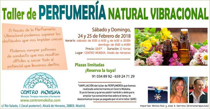 Taller de Perfumería Natural Vibracional