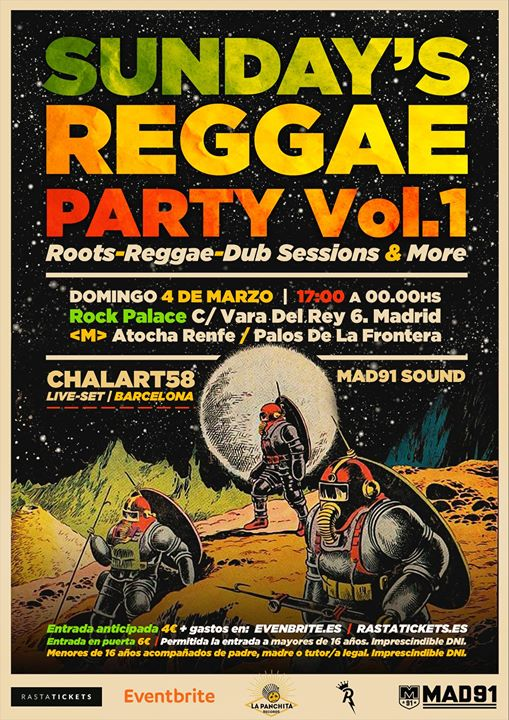 SUNDAY'S REGGAE PARTY (Vol.1)