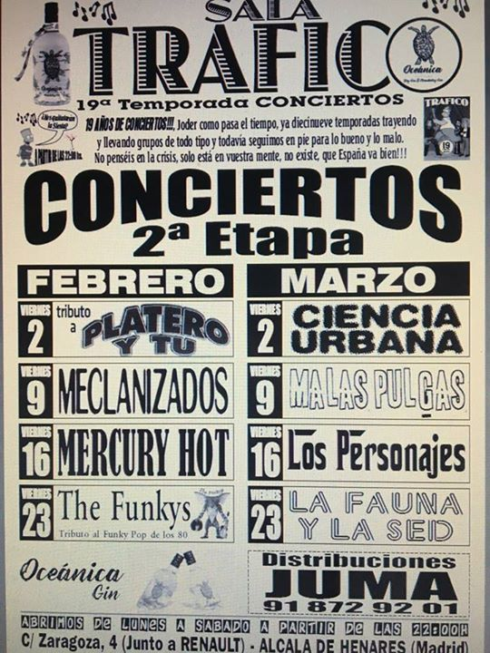 Concierto Mercury Hot