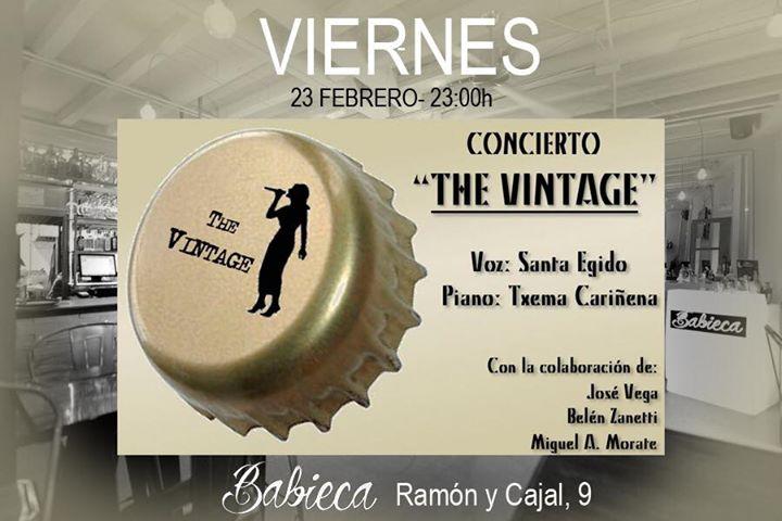 """""""THE VINTAGE & FRIENDS"""" concierto en Alcalá de Henares. En el """"Babieca"""""""