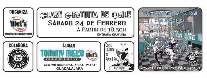Clase Gratuita de Baile Rock & Roll. Tommy Mel´s Guadalajara.