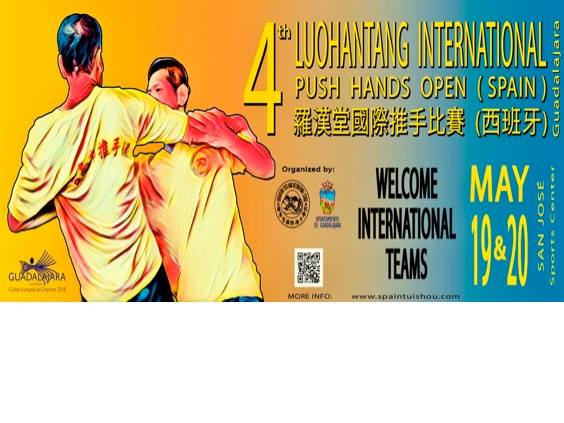 PUSH HANDS OPEN 2018 – Spain