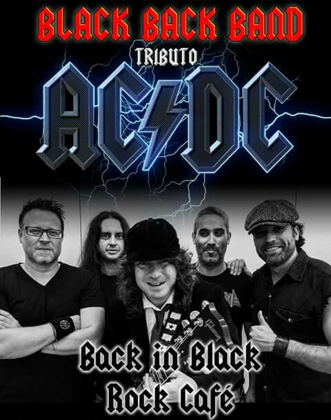 BLACK BACK BAND tributo AC/DC