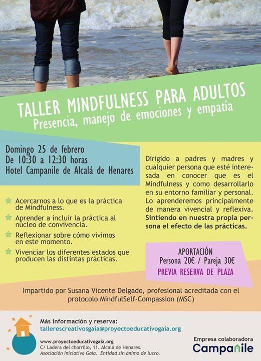 Taller mindfulness para adultxs