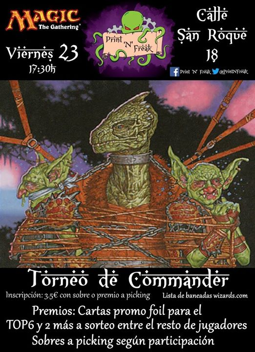 Friday Night Magic Commander
