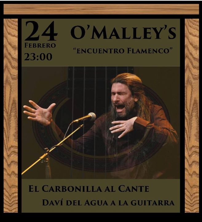 Encuentro Flamenco Omalleys