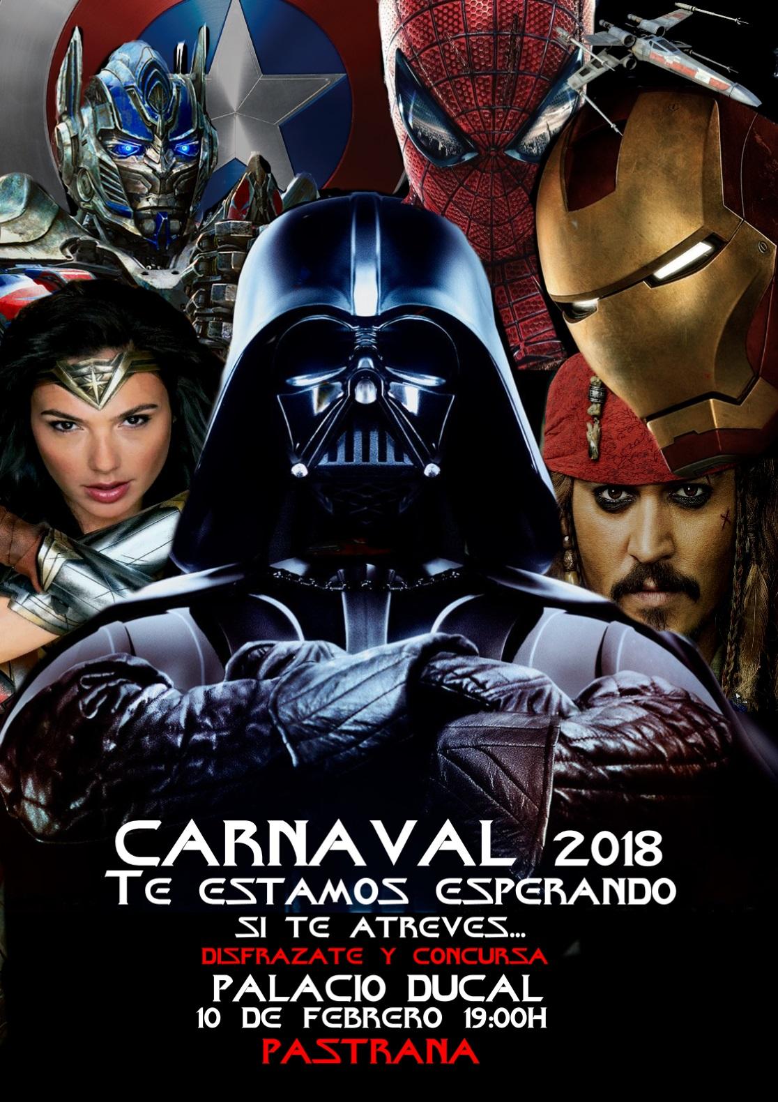 Homenaje al cine de aventuras en el carnaval de Pastrana