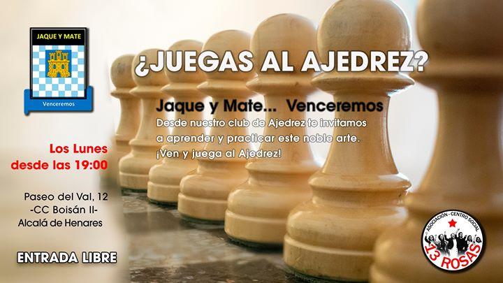 ¿Quieres jugar al ajedrez?
