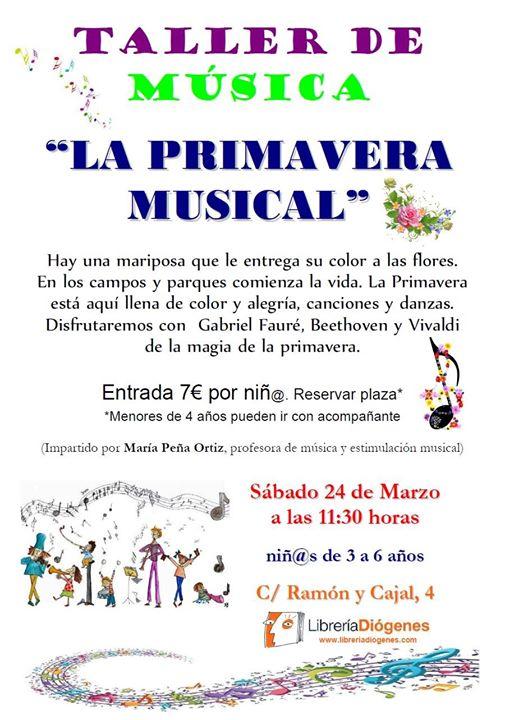 "Taller de música ""La primavera musical"""