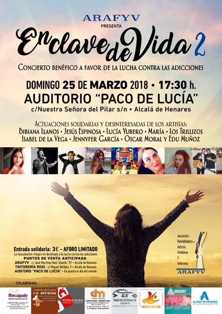 Concierto Benefico en Alcalá de Henares